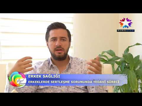 Euro Star TV, Güzel Yaşam Programı; Sertleşme Problemi ( Erektil Disfonksiyon Problemi)