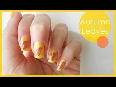 Autumn Leaves ● Nail Art