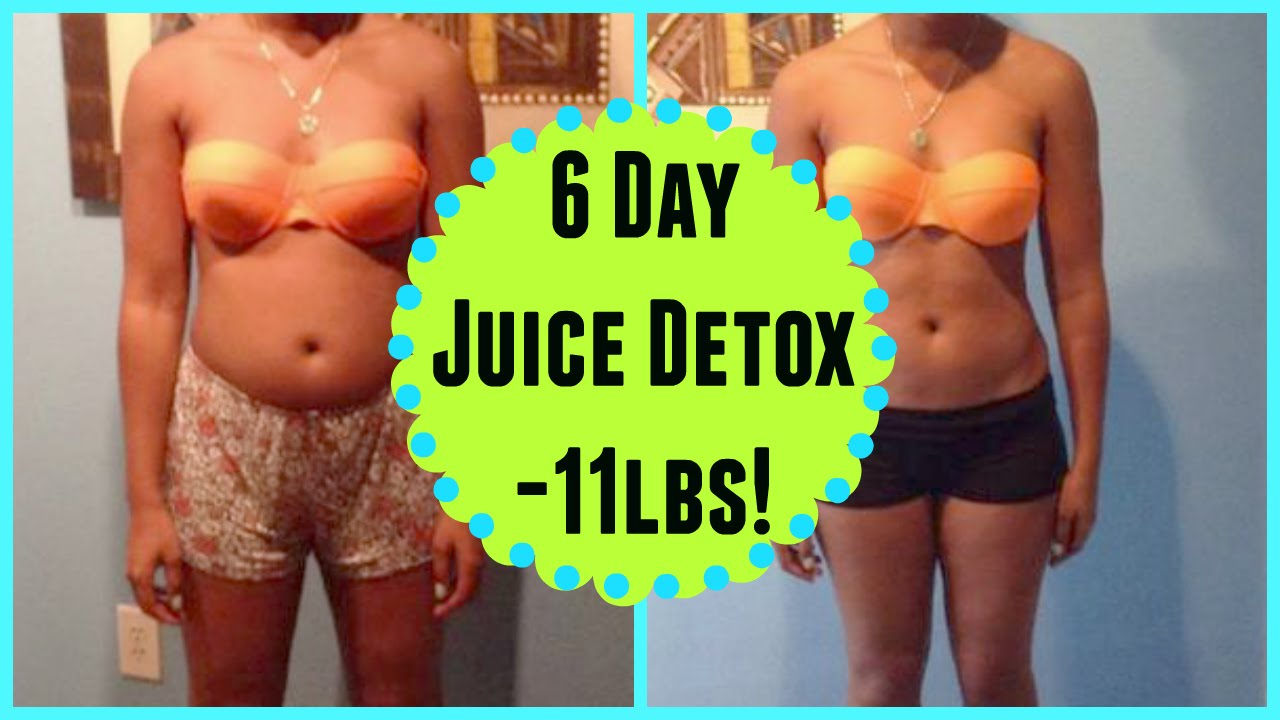 6 Day Detox Fast (Before & After Pictures) - YouTube