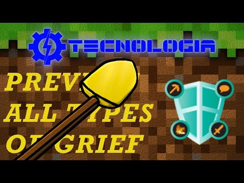 COME CLAIMARE SUL MIO SERVER Minecraft Griefprevention plugin tutorial ITA