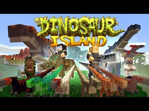 Minecraft Dinosaur Island Gameplay Review