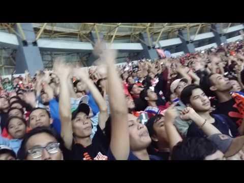Persija vs arema  2:0 patriot bekasi tgl 02.06.2017