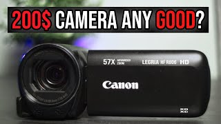 02. Canon Legria HF R806 / Vixia HF R800 | Every Thing You Need To Know | Unbox & Review