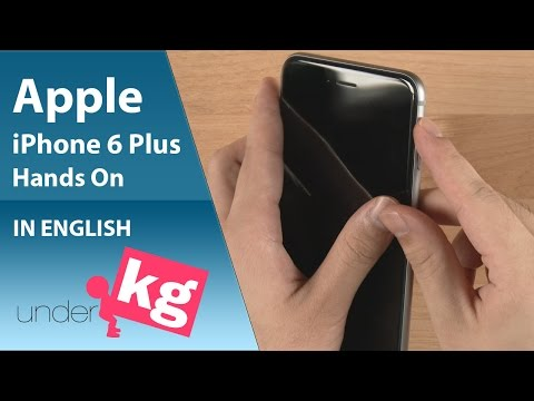 [Exclusive] Apple iPhone 6 Plus Hands on [4K]