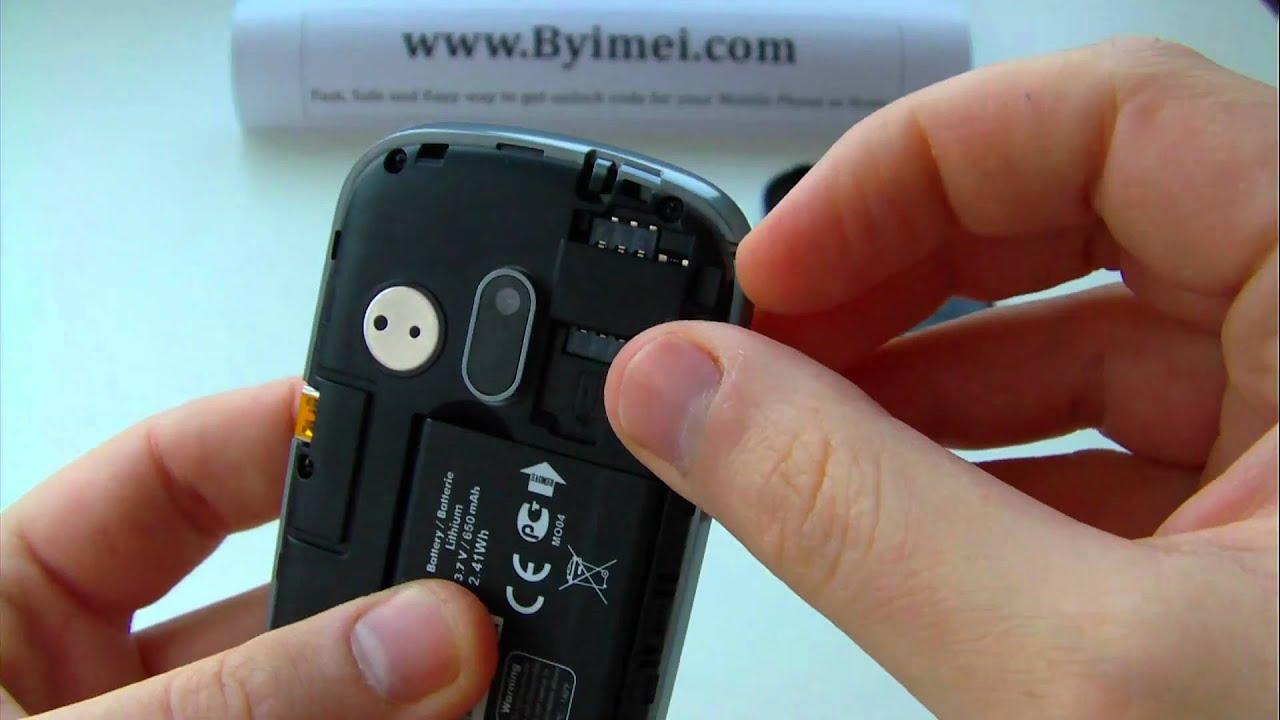 comment debloquer un portable alcatel ot-355