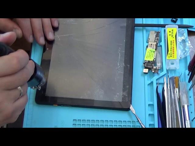 Замена тачскрина планшета digma 113