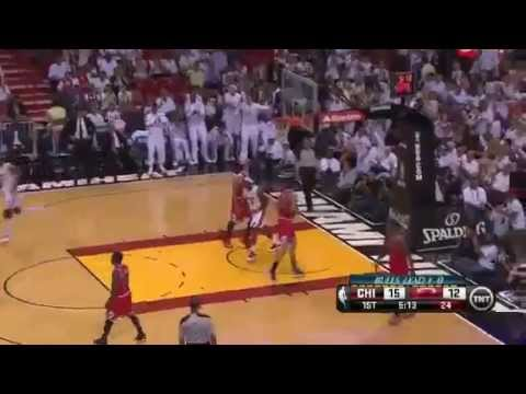 Chicago Bulls Vs Miami Heat - NBA Playoffs 2013 Game 2 - Full Highlights 5/8/13