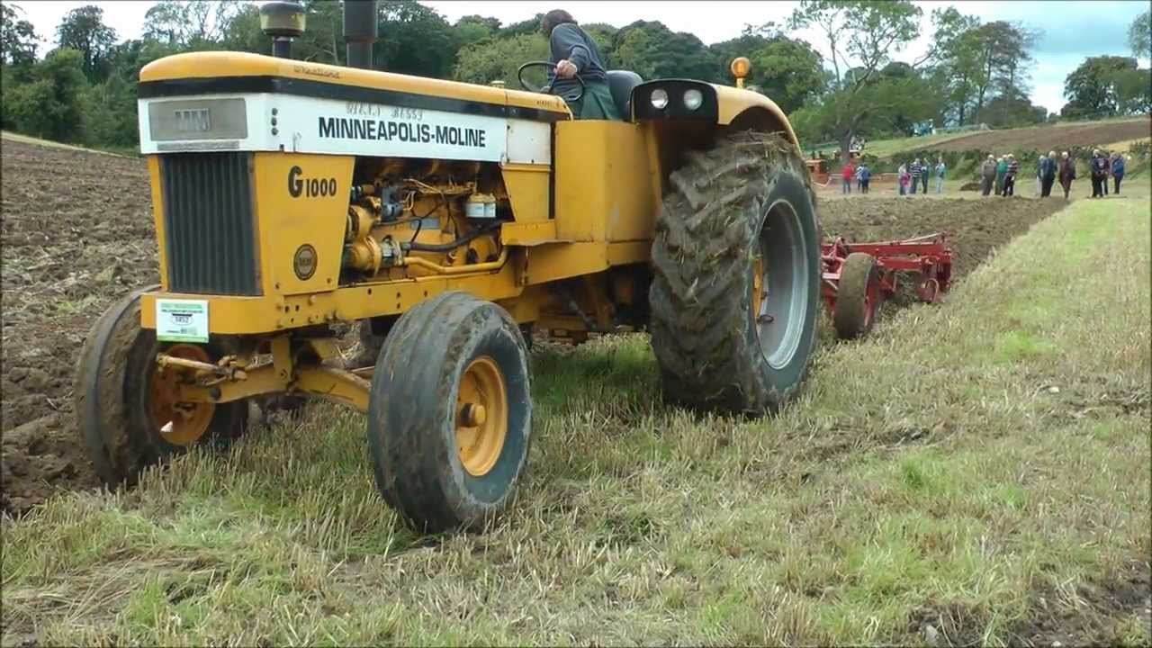 Rare Minneapolis - Moline tractor - YouTube