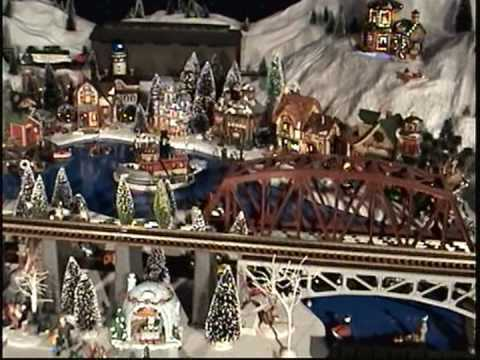 Christmas Train Village - 2008 (Livingston, TX)