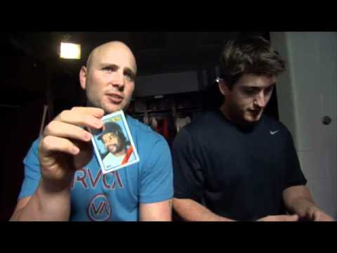 Old Skool Baseball Card Tournament -- Matt Holliday vs. David Freese