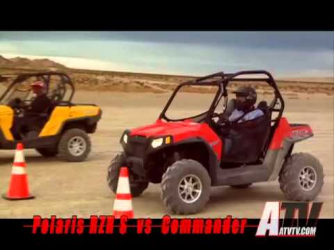 ATV Television Test - RZR S vs Commander 1000