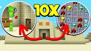 HOW TO GET 10X LOOT IN MINECRAFT! *LEGIT!*