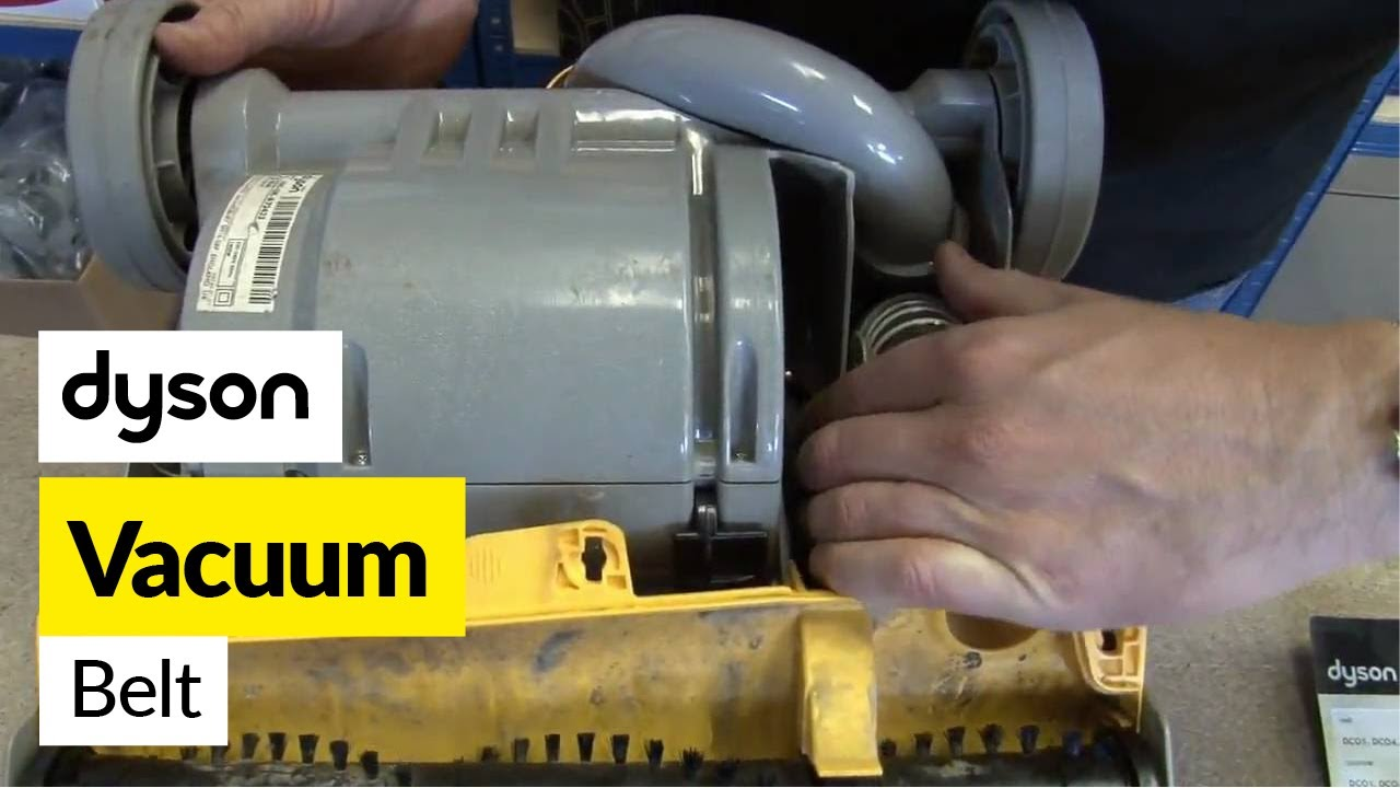 how to change the belt on a dyson dc33