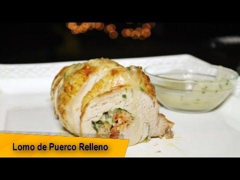 LOMO DE PUERCO RELLENO - RECETA FACIL