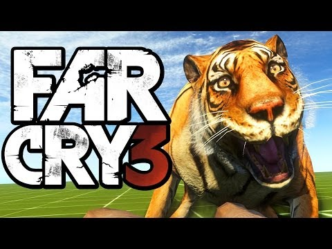 Far Cry 3 Funny Moments (Hunting Rare Animals. Liberating Outposts. Map Editor)