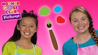 What Color Will This Make?   Color Challenge Game   Mother Goose Club Playhouse Kids Video