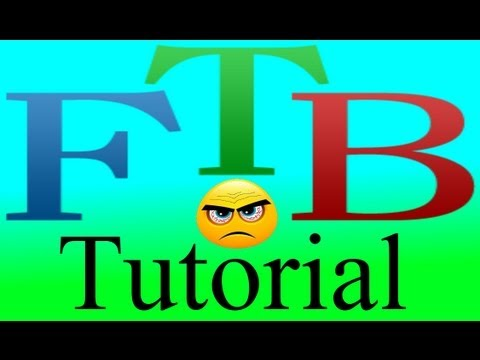 FTB/Feed The Beast Tutorial/Guide - Semifluid Generator, How To Make And Use, Plus Tips