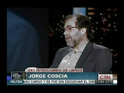 Intercambio de Libros con Jorge Coscia