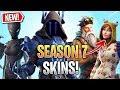 Fortnite: SEASON 7 BATTLEPASS Skins LEAKED! (4 Season 7 Battlepass Skins)