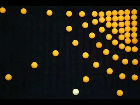 PING PONG BALL MANIPULATION (stop motion)