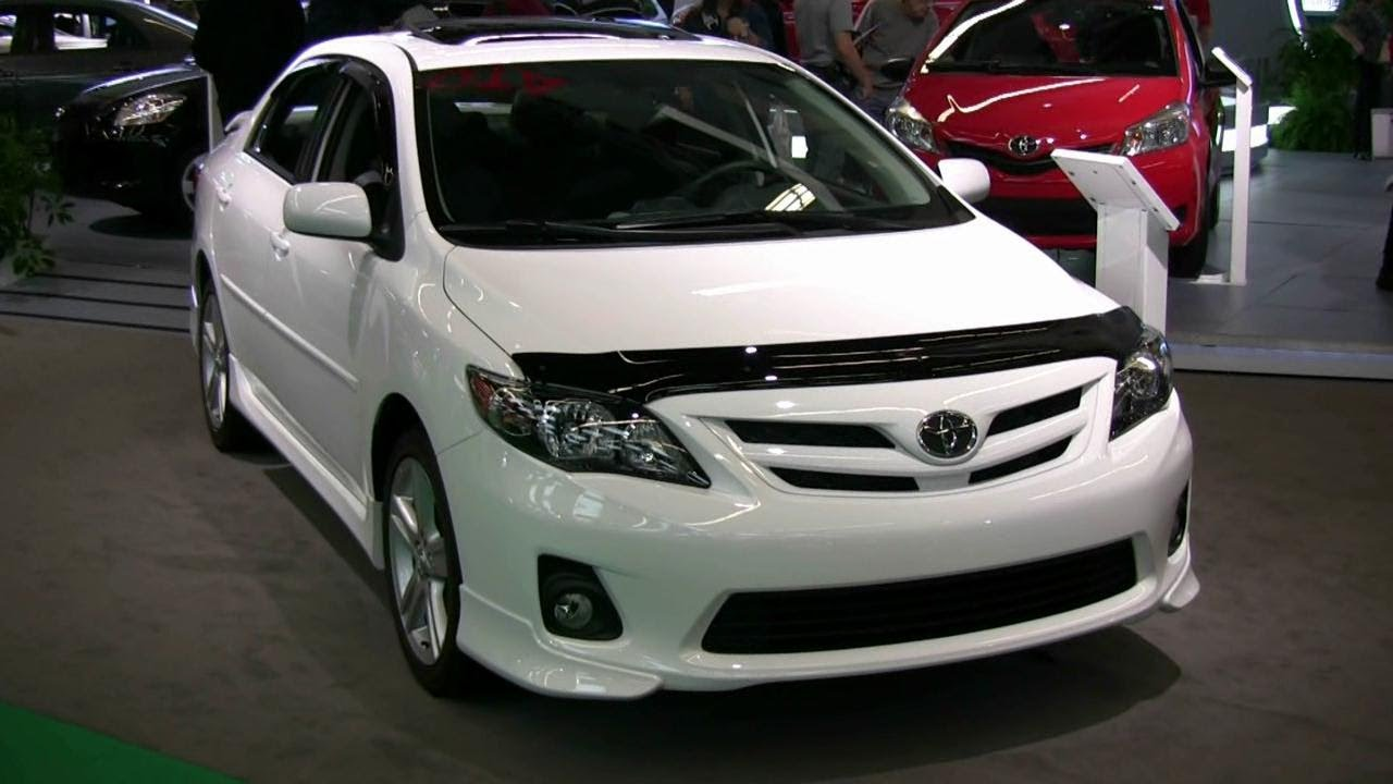 2012 toyota corolla xrs exterior and interior at 2012. Black Bedroom Furniture Sets. Home Design Ideas