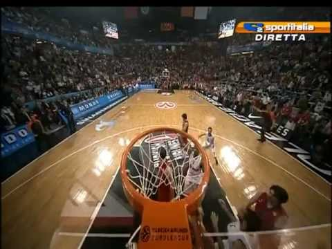 Olympiacos Champion Euroleague 2012 (il canestro di Printezis)
