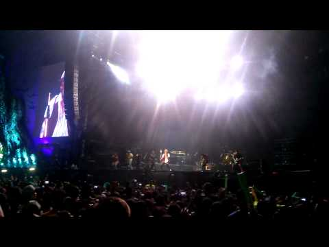 Bruno Mars Gorillas Festival Presidente 2014 Santo Domingo  (part 1) video