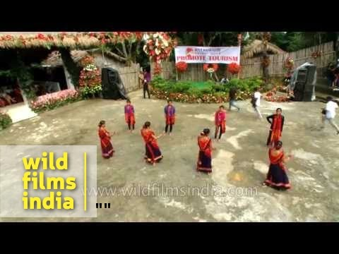 North-east Indian dance in Mizoram : a visual extravaganza!