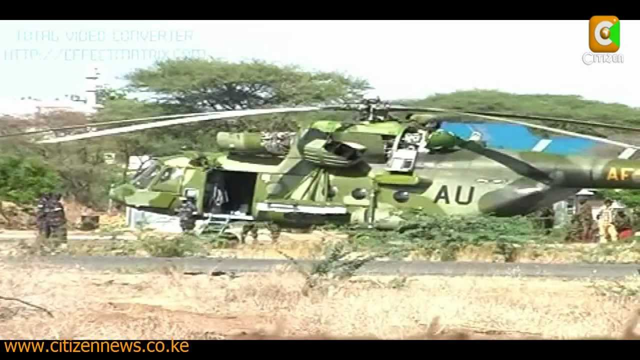 Military Choppers Ugandan Military Choppers