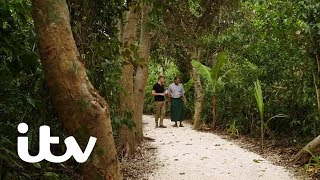 Harry & Meghan: The First Tour | Dedicating the Toloa Rainforest Reserve to the Queen's Canopy | ITV
