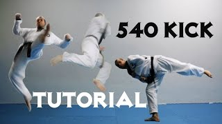 Tutorial 540 kick