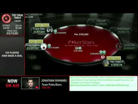 WCOOP 2014: Main Event $5 200 NLH, $10M Guaranteed - Video Online