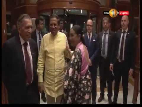 president arrives at|eng