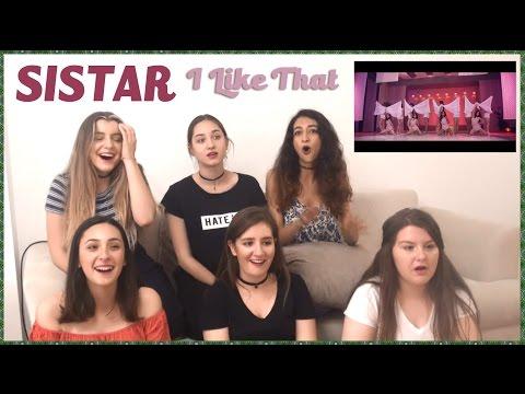 SISTAR - I LIKE THAT MV REACTION