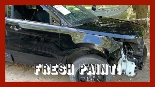 Rebuilding A Wrecked 2017 Ford Police Interceptor Utility -- Part 11