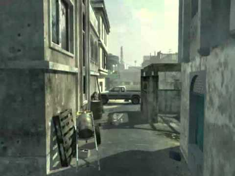 EPIC RANDOM MW3 THROWING KNIFE KILL!