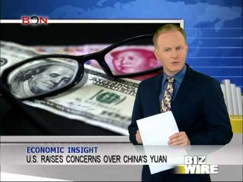 U.S. raises concerns over China's yuan - Biz Wire - April 21,2014 - BONTV China