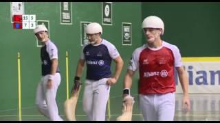 Professional Jai Alai- Olharan- Lekerika vs Diego beascoetxea- Irastorza 08- 25- 16  best points