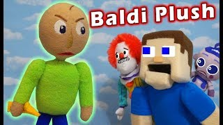 BEWARE the BALDI BASICS PLUSH Toy! PUPPET STEVE and Hello Neighbor are in for Unboxing Trouble!