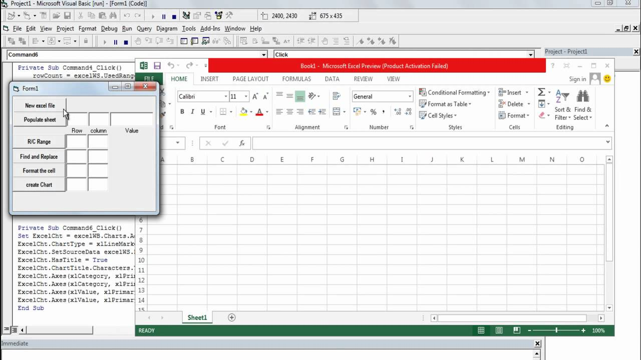 ADO Excel VBA  SQL Connecting to Database Example Macros