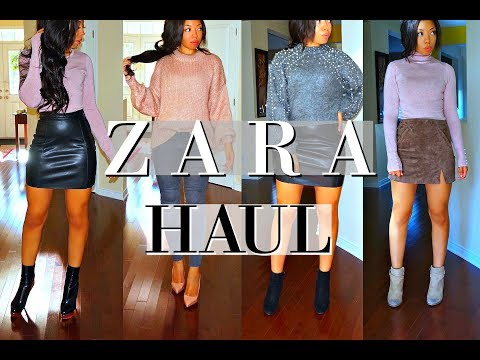 ZARA HAUL & TRY ON + Unboxing | Fall 2017