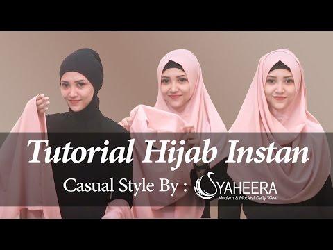 #1 Tutorial Hijab Instan Bergaya Casual By Syaheera Hijabtutorial PashminaHijabtutorial PashminaInstanRaisa, koleksi lengkap di: Facebook: facebook.com/hijabwanitacantik IG:...