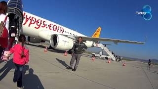 Turkey Denizli Cardak Airport To Sabiha Gokcen International Airport/ 터키 데니즐리공항
