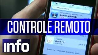 Transforme o smartphone em controle remoto de TV