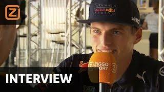 Interview | Max Verstappen: 'In regen is pole zeker mogelijk' | GP Duitsland | 20/07/2018