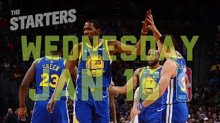 NBA Daily Show: Jan. 16 - The Starters