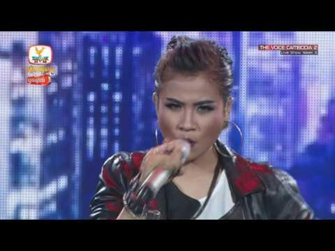 The Voice Cambodia - Chhin Rathanak - Live Show 29 May 2016