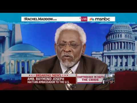 Rachel Maddow- Haitian ambassador shames Pat Robertson