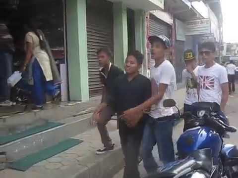 Heatuda Gang Fight  Hetauda Schoolroad Gangfight,nepal video