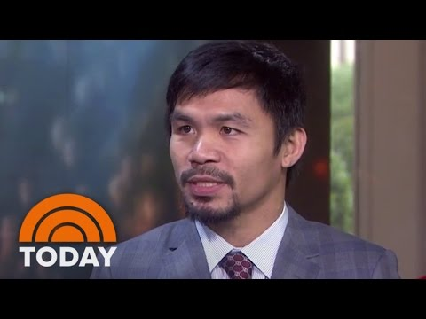 Manny Pacquiao Agrees To Fight Floyd Mayweather | TODAY